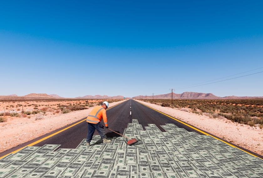 Resultado de imagem para money road